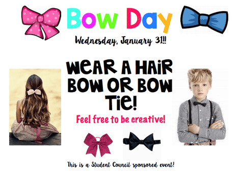 Bow Day is coming...